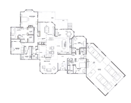Aerial view of Cattran Residence Plans